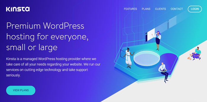 kinsta managed wordpress host
