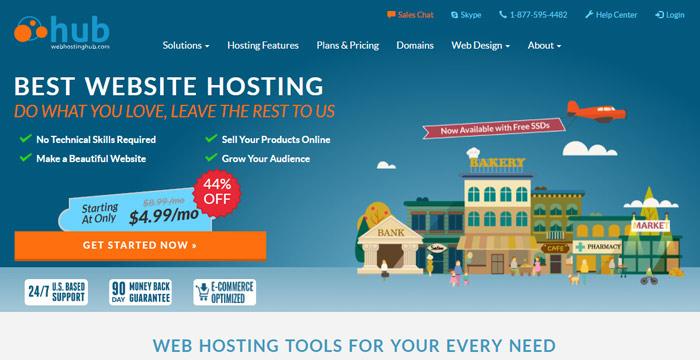 webhostinghub best cpanel web hosting