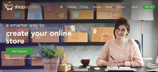 Shopaccino software builder