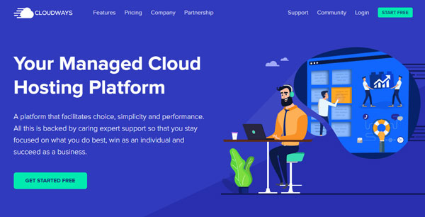 Cloudways alternative to OVH hosting