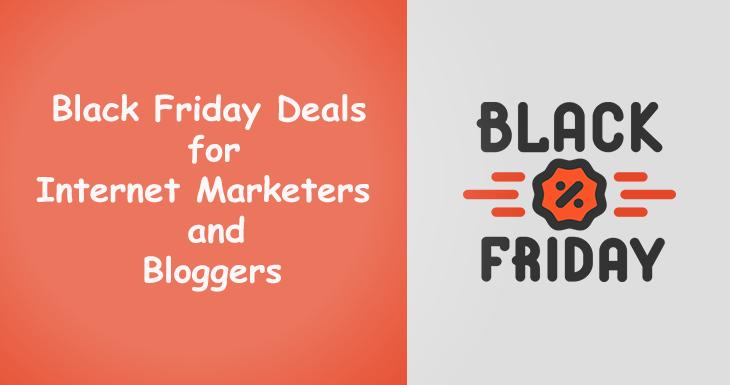 Internet Marketing Black Friday Deals
