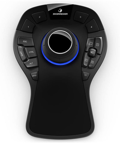 3DConnexion 3DX-700040 SpaceMouse Pro 3D Mouse