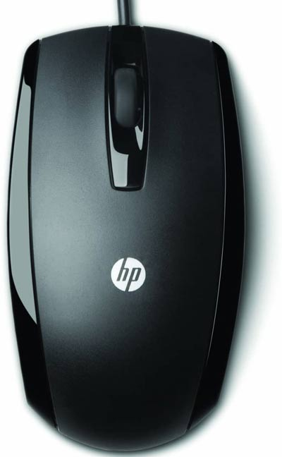 HP USB 3 Button Optical CAD Mouse