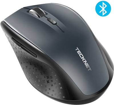 TECKNET Bluetooth Wireless Mouse for CAD